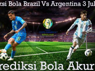 Prediksi Bola Brazil Vs Argentina 3 Juli 2019