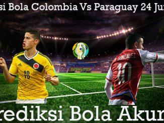 Prediksi Bola Colombia Vs Paraguay 24 Juni 2019