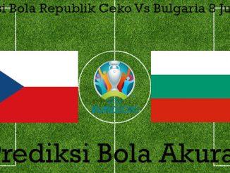 Prediksi Bola Republik Ceko Vs Bulgaria 8 Juni 2019