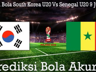 Prediksi Bola South Korea U20 Vs Senegal U20 9 Juni 2019