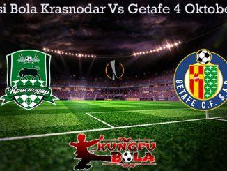 Prediksi Bola Krasnodar Vs Getafe 4 Oktober 2019