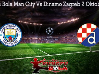 Prediksi Bola Man City Vs Dinamo Zagreb 2 Oktober 2019