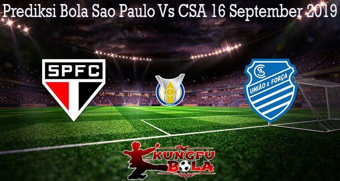 Prediksi Bola Sao Paulo Vs CSA 16 September 2019