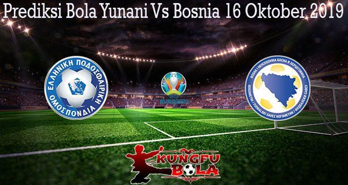 Prediksi Bola Yunani Vs Bosnia 16 Oktober 2019