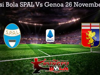 Prediksi Bola SPAL Vs Genoa 26 November 2019