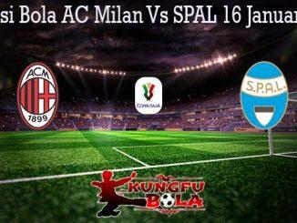 Prediksi Bola AC Milan Vs SPAL 16 Januari 2020