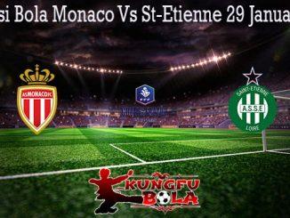 Prediksi Bola Monaco Vs St-Etienne 29 Januari 2020