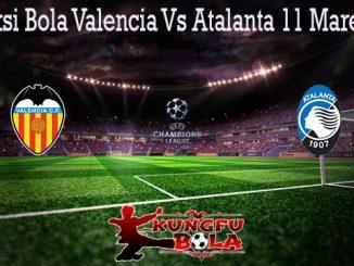 Prediksi Bola Valencia Vs Atalanta 11 Maret 2020